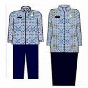seragam pns batik KK-22