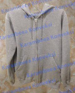 jaket hoodie zipper
