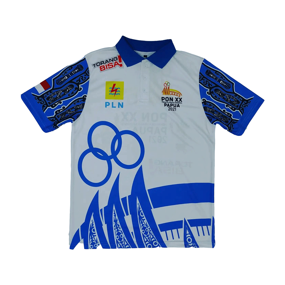 polo shirt pon papua 2021