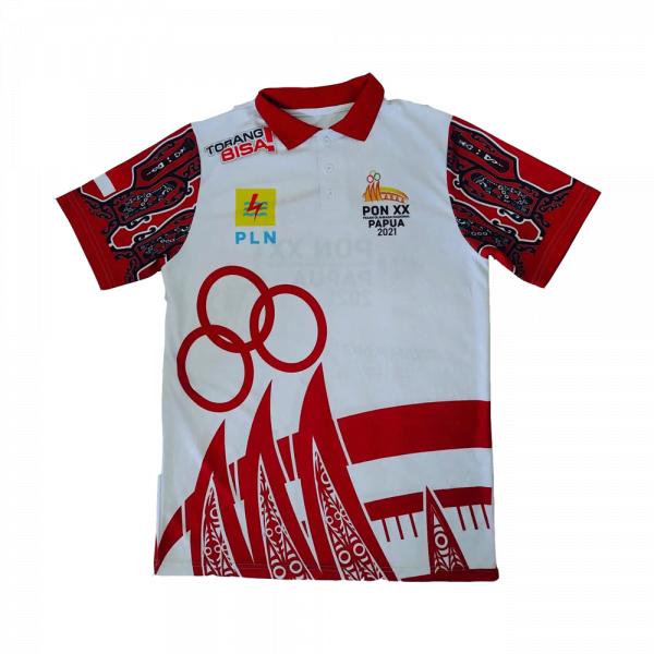 polo shirt printing pon papua 2021